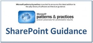Patterns & Practices SharePoint Guidance