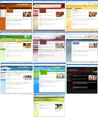New SharePoint Themes