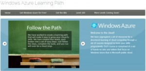 Windows Azure Learning Path
